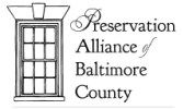 Preservation Alliance of Baltimore County logo