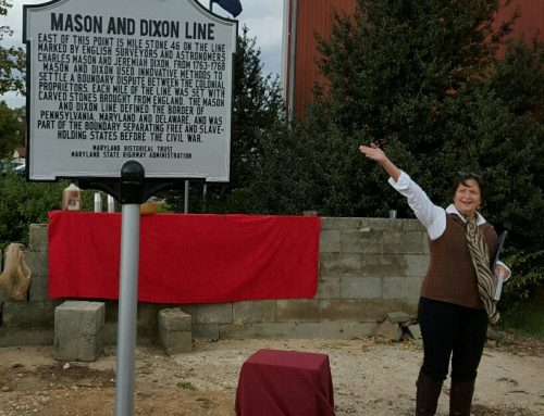 Unveiling of Historic Road Marker – Mason and Dixon Line